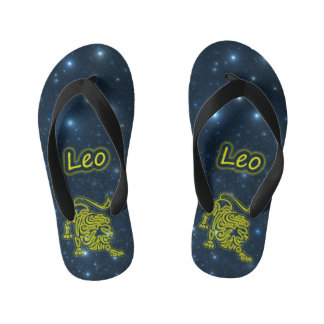 Bright Leo Kid's Flip Flops