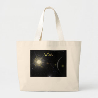 Bright Leo Large Tote Bag