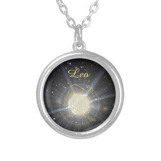 Bright Leo Silver Plated Necklace