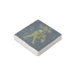 Bright Libra Stone Magnet