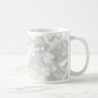 Bright Light Leaves in the Sun Basic White Mug