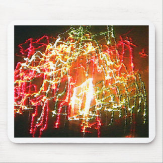 Bright Lights Abstract by Dale Wilhelm Mouse Pad