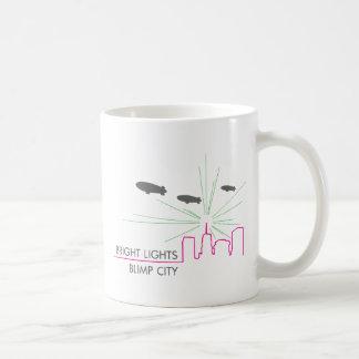 Bright Lights Blimp City Basic White Mug
