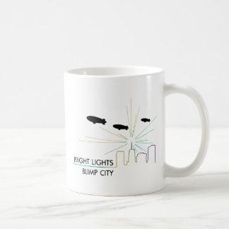 Bright Lights Blimp City Coffee Mug