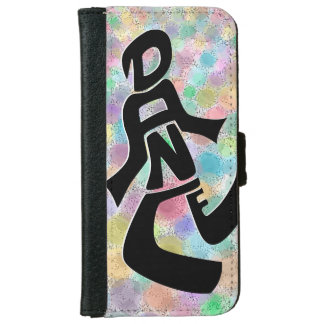Bright Lights Dance iPhone 6 Wallet Case