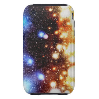 Bright lights in the Rain iPhone 3 Tough Cases