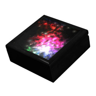 Bright Lights of Space Large Square Gift Box