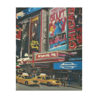 Bright Lights Times Square 2012 Canvas Print