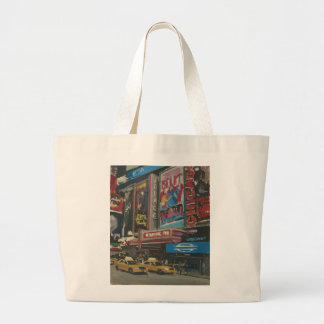 Bright Lights Times Square 2012 Large Tote Bag
