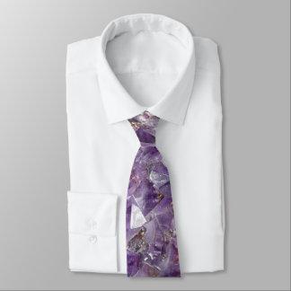bright lilac amethyst tie