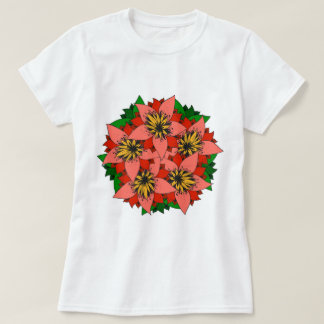 Bright Lily Flowers Women's Apparel T-shirts