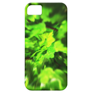Bright Lime Green and Dark Green Abstract. iPhone 5 Cases