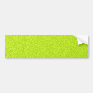 Bright Lime Green Neon Trendy Colors Bumper Sticker