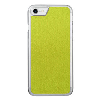 Bright Lime Green Neon Trendy Colors Carved iPhone 8/7 Case
