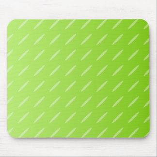 Bright Lime Green Patterned Background Design. Mouse Pad