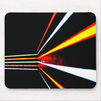 Bright Lines Mouse Mat