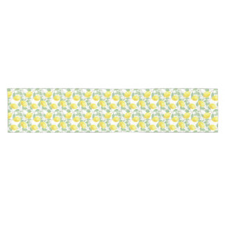 Bright, Lovely Table Runner with Lemons print