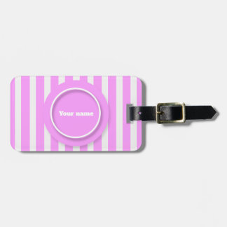Bright Luggage Tag- Pink Colour Luggage Tag