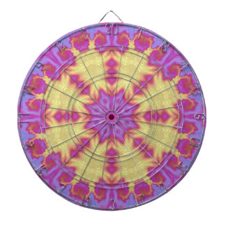 Bright Mandala Dartboard