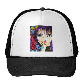 Bright manga decorative artwork trucker hats