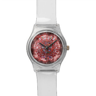 Bright Mayan Calender Watch