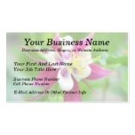 Bright McKana Type Columbine Pack Of Standard Business Cards
