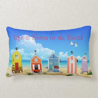 Bright, Modern Beach Houses Lumbar Cushion