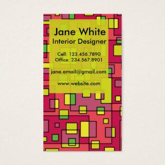 Bright & Modern Business Card