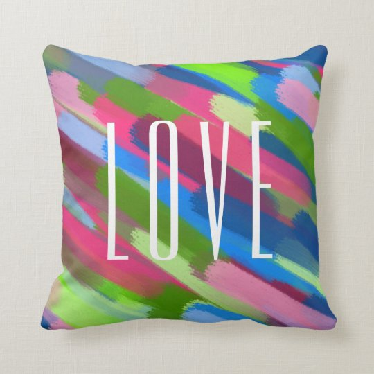bright modern cushion throw pillow home decor