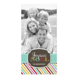 Bright Modern Customizable Photo Card