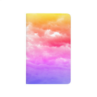 Bright Multi-Colored Cloud Journal