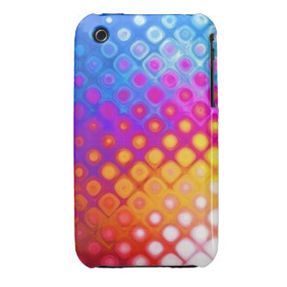 Bright Multicolor Abstract iPhone 3 Case Mate