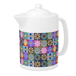 Bright Multicolored Patchwork Pattern