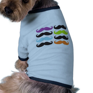 Bright Mustaches Dog Clothing