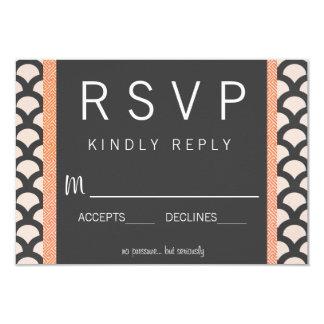 Bright N Beautiful Wedding RSVP 9 Cm X 13 Cm Invitation Card