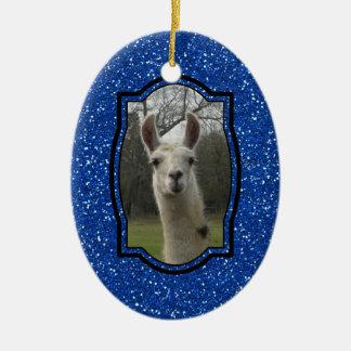 Bright N Sparkling Llama Ornaments