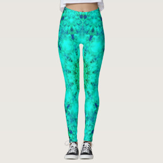 Bright Neon Mandala Leggings