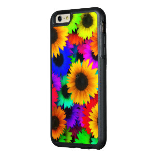 Bright Neon Sunflower Field OtterBox iPhone 6/6s Plus Case