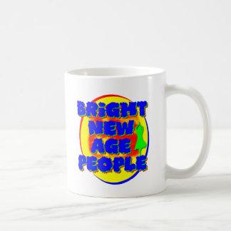 Bright New Age People Basic White Mug