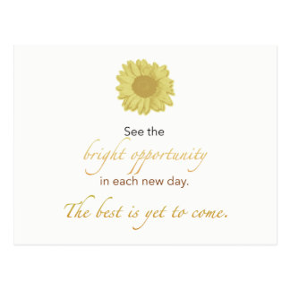 Bright New Day Postcard