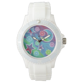 Bright Night print watch