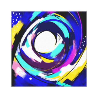 Bright Night Stretched Canvas Prints