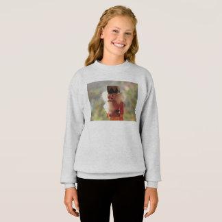 Bright nutcracker sweatshirt