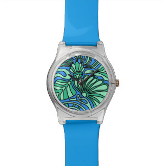 Bright Ocean Theme Design. Watch