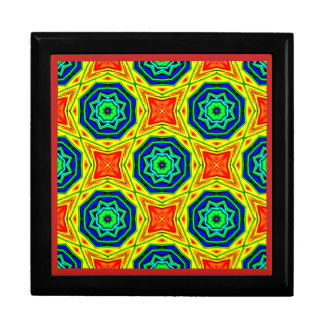 ~ Bright Octagon Fractal ~ Gift Box