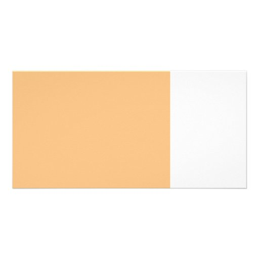 bright orange 8 x 11 50 lightness DIY custom Custom Photo Card