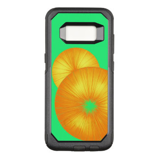 Bright Orange and Green SO COOL OtterBox Commuter Samsung Galaxy S8 Case