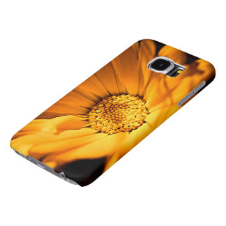 Bright Orange Daisy Samsung Galaxy S6 Cases