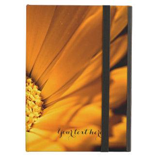 Bright Orange Daisy Wildflower iPad Air Case