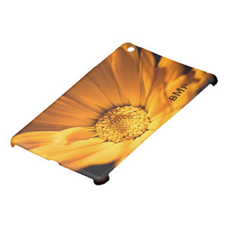 Bright Orange Daisy Wildflower iPad Mini Cover